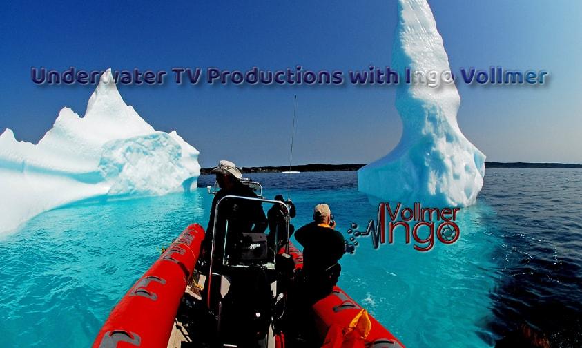 ingo vollmer, Underwater tv productions