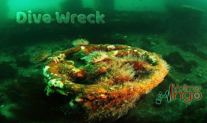 Wreck Diving with Ingo Vollmer, Cape Breton, canada
